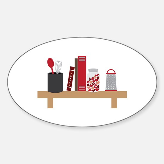 Cooking Shelf Decal