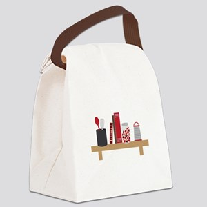Cooking Shelf Canvas Lunch Bag