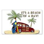 It's A Beach Of A Day! Sticker