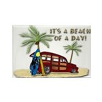 It's A Beach Of A Day! Magnets
