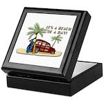 It's A Beach Of A Day! Keepsake Box