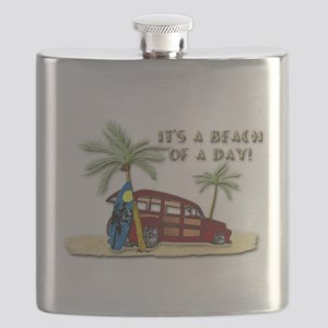 It's a Beach of a Day! Flask