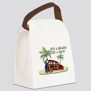 It's a Beach of a Day! Canvas Lunch Bag