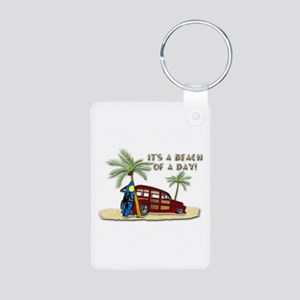 It's A Beach Of A Day! Keychains