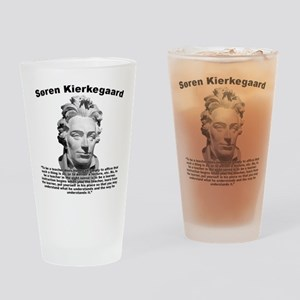 Kierkegaard Teacher Drinking Glass