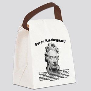 Kierkegaard Teacher Canvas Lunch Bag