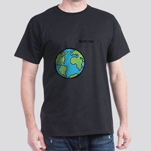 Save the world shirt Dark T-Shirt