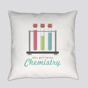 Love Chemistry Everyday Pillow