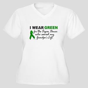 I Wear Green 2 (Saved My Grandpa's Life) Women's P