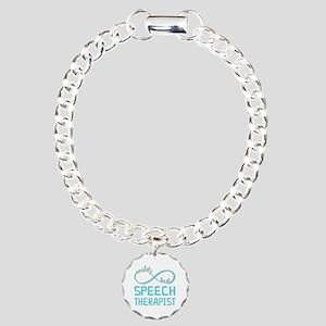 Worlds Best Speech Thera Charm Bracelet, One Charm