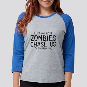 Zombie Chase Long Sleeve T-Shirt
