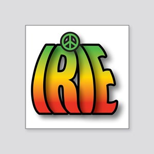 Irie Peace Sticker