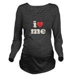 I Heart Me Long Sleeve Maternity T-Shirt
