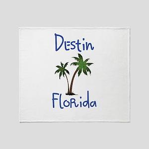 Destin Florida Throw Blanket
