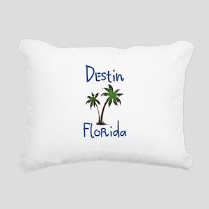 Destin Florida Rectangular Canvas Pillow