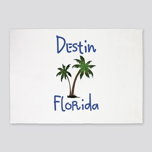Destin Florida 5'x7'Area Rug