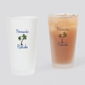 Pensacola Florida Drinking Glass