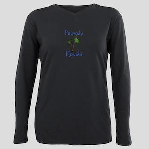 Pensacola Florida Plus Size Long Sleeve Tee