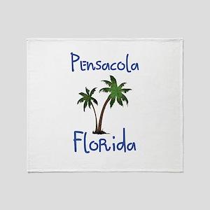 Pensacola Florida Throw Blanket