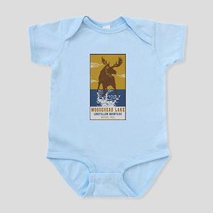 Moosehead Lake Maine Moose Body Suit