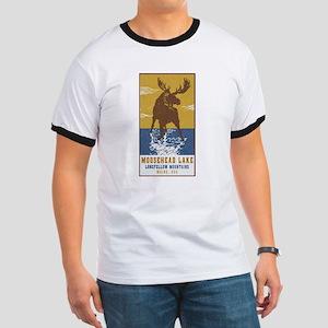 Moosehead Lake Maine Moose T-Shirt