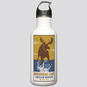 Moosehead Lake Maine M Stainless Water Bottle 1.0L