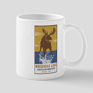 Moosehead Lake Maine Moose Mugs