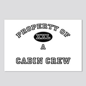 Property of a Cabin Crew Postcards (Package of 8)