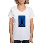 Hanged Man Women's V-Neck T-Shirt