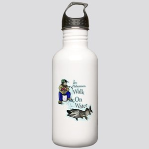 Ice fishing muskie Stainless Water Bottle 1.0L
