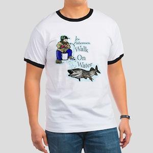 Ice fishing muskie Ringer T