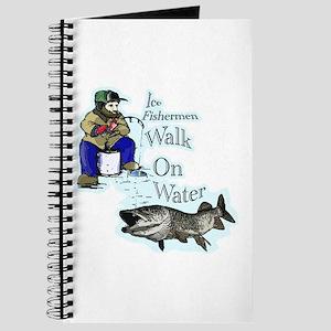 Ice fishing muskie Journal