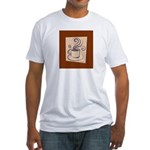 Espresso Fitted T-Shirt