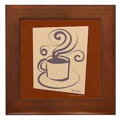 Espresso Framed Tile