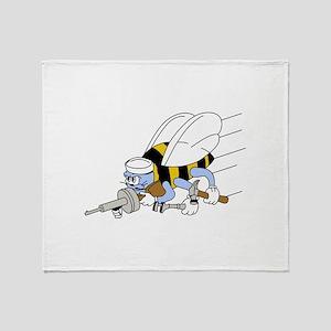 Seabees Throw Blanket
