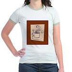 Espresso Jr. Ringer T-Shirt
