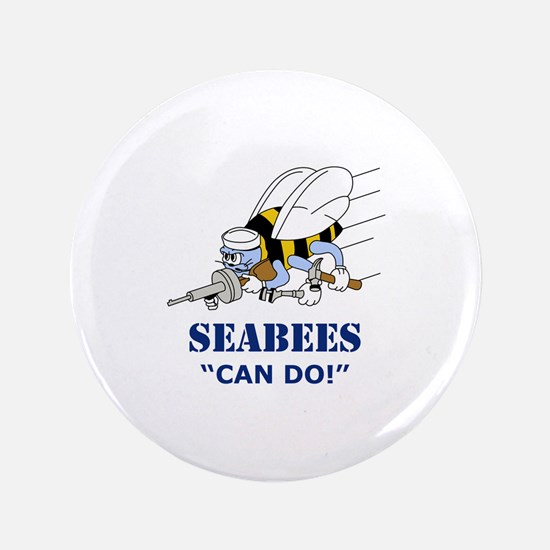 Seabees Can Do Button