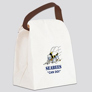 Seabees Can Do Canvas Lunch Bag