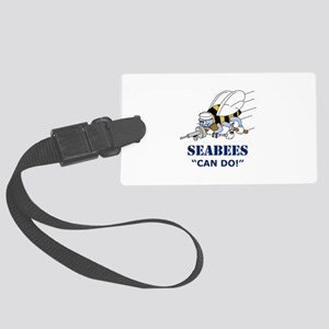 Seabees Can Do Luggage Tag