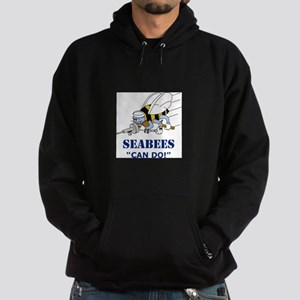 Seabees Can Do Hoodie