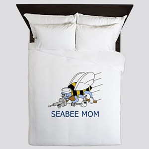 Seabee Mom Queen Duvet