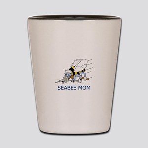 Seabee Mom Shot Glass