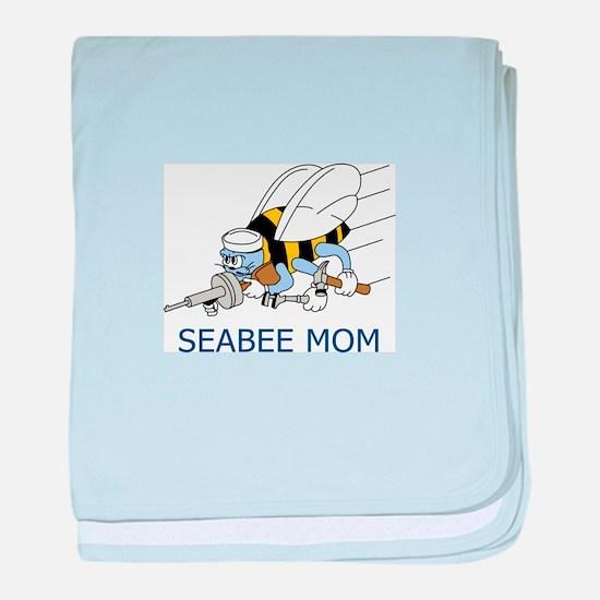 Seabee Mom baby blanket