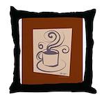 Espresso Throw Pillow