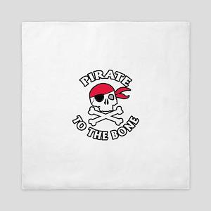 Pirate To The Bone Queen Duvet