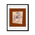 Espresso Framed Panel Print