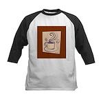 Espresso Kids Baseball Jersey