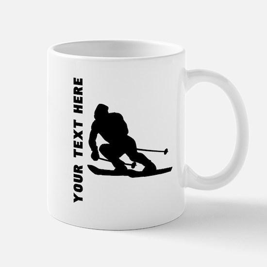 Skier (Custom) Mugs