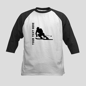 Skier (Custom) Baseball Jersey
