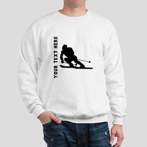 Skier (Custom) Sweatshirt